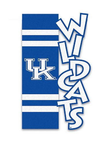 Kentucky Wildcats Applique Sculpted Garden (Kentucky Wildcats Applique)
