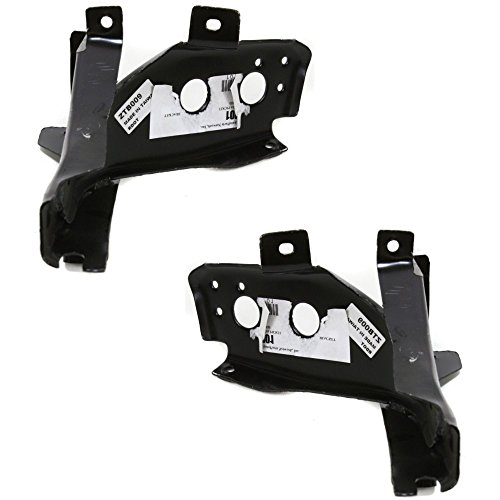 Bumper Bracket compatible with Mazda Pickup 86-91 Front Set Of 2 (RH and LH) 2WD