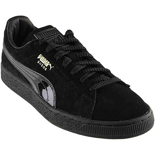 PUMA Mens Suede Basket NK Casual Athletic & Sneakers Black