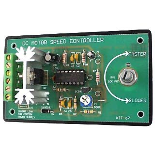 Assembly Required DC Motor Speed Controller Kit