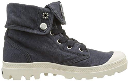Palladium 92353, Zapatillas Altas Mujer Azul (Anthracite/Marshmallow)