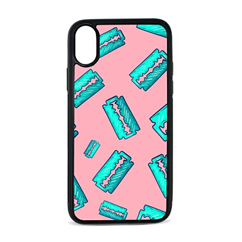Blade Hand-Painted Creative Design Digital Print TPU Pc Pearl Plate Cover Phone Hard Case Cell Phone Accessories Compatible with Protective Apple Iphonex/xs Case 5.8 -