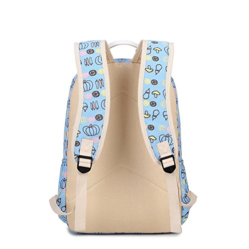 Funny Casual Pumpkin Backpack Design Bags Laptop Lovely Creative Green School Backpack Qearly Bag T145ww