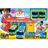 N Tayo the Little Bus Garage Special Gas Station TOY Car Wash Road Set