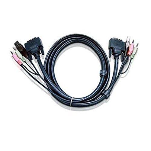 TopOne Aten Corp 2L7D03UI 10 Dual Link DVI Cable