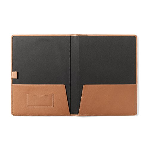 Buy pocket file folders leather