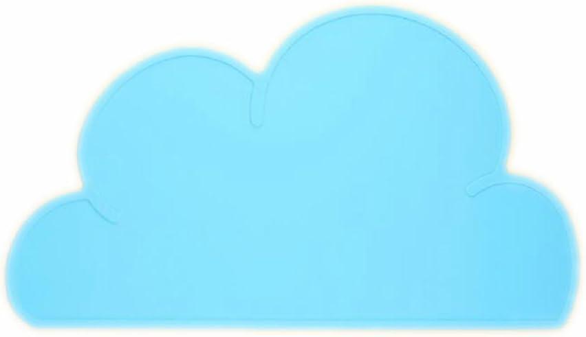 Azul Youkara 1x Beb/és Y Ni/ños Sobre El Mantel Individual de La Nube Del Beb/é