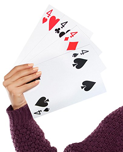Jumbo Oversize Playing Cards 4.5