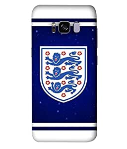 ColorKing Football England 20 Multi Color shell case cover for Samsung S8 Plus