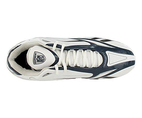 Reebok Hommes Nfl Électrifier Sd3 Football Taquet Blanc / Marine