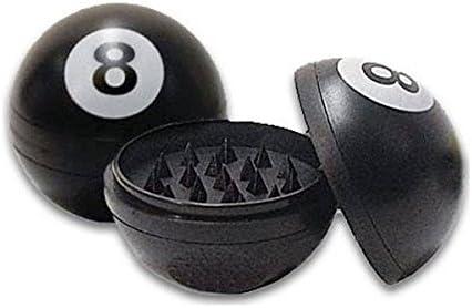 Idroponica Grinder Plástico Magnetico Bola 8 Picador, Negro ...