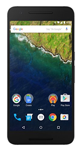 Huawei Nexus 6P H1512 32GB (GSM Unlocked) - International Version with No Warranty (Graphite / Gray) -  51097274