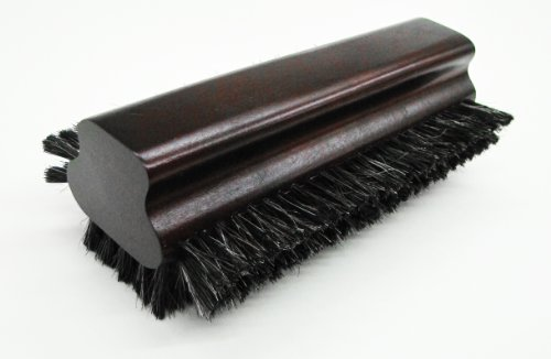 - Iszy Billiards Pool Table Horsehair Brush with Mahogony Finish (8.5-Inch)