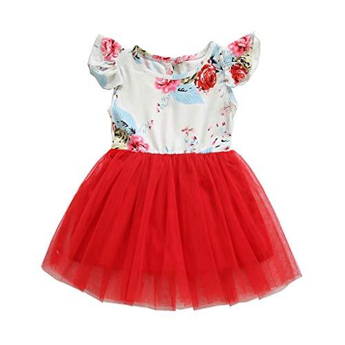 (Easter Waist Shirts Prime Pant Child Set Skirt Kid Cute Short-Sleeve Bodysuit Flowers Hoodie Outfit Onesies Elephants Buttons Ruffles Women Princess Kids Sleeve Red)
