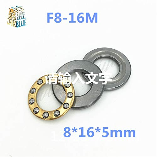Race Grooved - Ochoos F8-16M 8165mm 10PCS/LOT Mini Thrust Ball Bearing RC Models with Grooved Raceway(s) f8-16