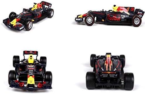 Modelo de Coche de Carreras de Toro Rojo 1:43 simulaci/ón de carruaje de aleaci/ón F1 DishyKooker