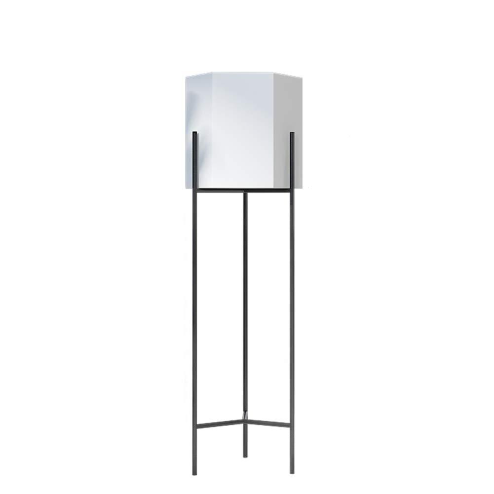 フラワーポットスタンドアイアンアウトドアガーデンフラワーラックリビングルームレストランウェディングフラワーディスプレイスタンド (色 : 白, サイズ さいず : 80cm-height) B07GXHRF1V 80cm-height|白 白 80cm-height