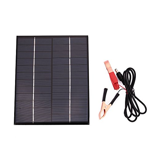 Solar Panel Motorcycle Battery Charger - 9