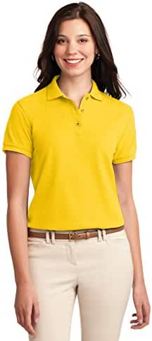 Port Authority womens Silk Touch Polo (L500)