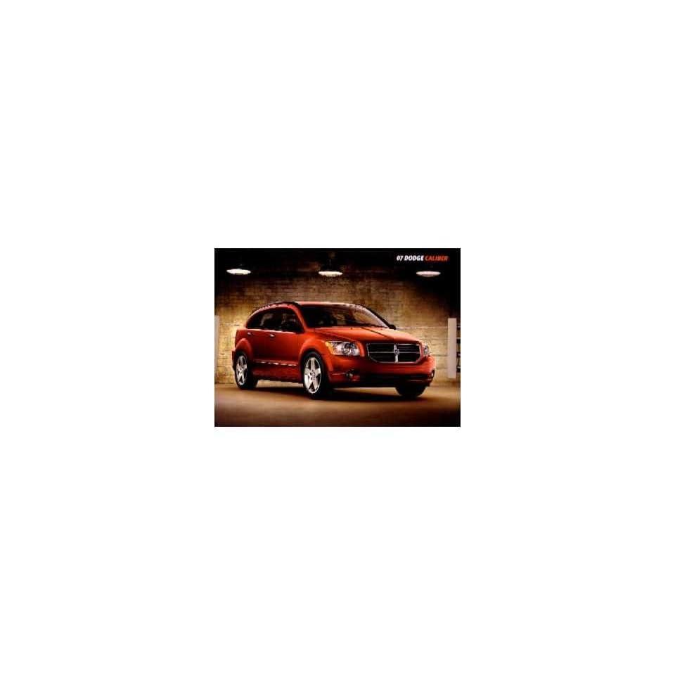 2007 Dodge Caliber Sales Brochure Literature Book Piece Advertisement Dealer