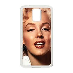 Samsung Galaxy S5 Phone Case White Hc Marilyn Monroe Smiling Celebrity Sexy JS8T2RUI Speck Phone Cases
