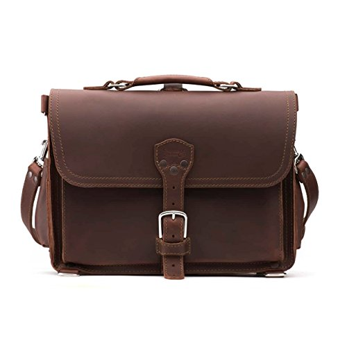 (Saddleback Leather Co. Slim Full Grain Leather 15-inch Laptop Computer Bag Includes 100 Year Warranty)