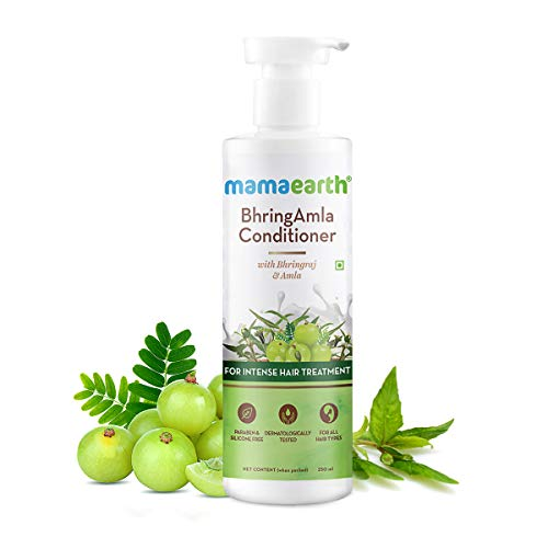 Mamaearth BhringAmla Conditioner for hair fall with Bhringraj & Amla for Intense Hair Treatment – 250ml
