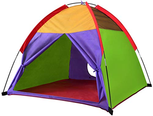 "Tent Play Adventure Kid (Alvantor Kids Tents Indoor Children Play Tent For Toddler Tent For Kids Pop Up Tent Boys Girls Toys Indoor Outdoor Playhouse Camping Playground 8010 Rainbow 48""x48""x42"