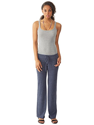 Alternative Womens Eco-Jersey Long Pants Medium Eco True Navy
