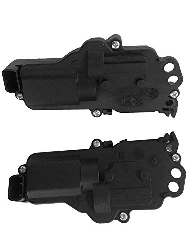 Beasteel Right and Left Door Lock Actuator 2pc Kit Replaces# 6L3Z25218A43AA, 6L3Z25218A42AA,3L322518443AA,3L322518442AA Fits Ford F150, F250, F350, F450, Excursion, Expedition, Mustang