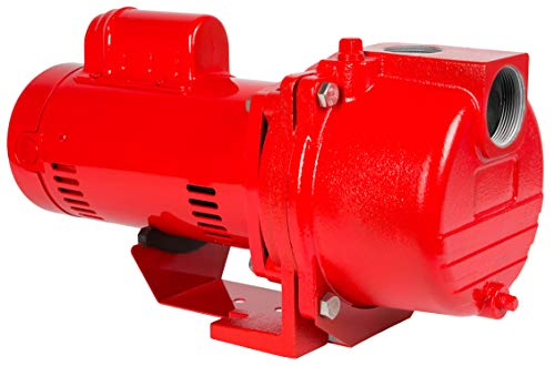 Cast Iron Sprinkler Pump - Red Lion Pumps RL-SPRK150 lawn-sprinkler-pumps, Red