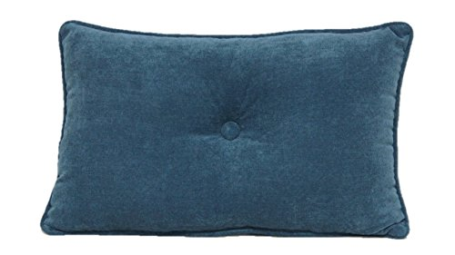 Brentwood Originals 7650 Avalon Pillow, 13 by 20-Inch, Teal (Pillow Accent Quilted)