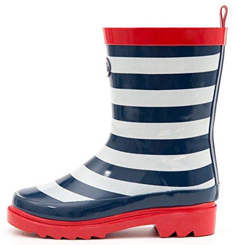 Outee Boys Girls Kids Toddler Wellies Wellingtons Rain Boots Waterproof...