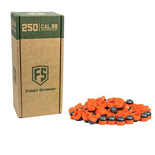 First Strike Paintballs (250 Count, Smoke/Orange Orange Fill) by First Strike