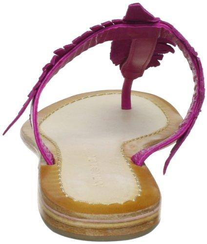 cuero Pink Batik POESY Chanclas para Rosa de POESY1TON Antik Fushia mujer 7SXzwxBw