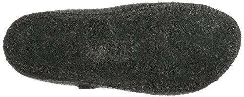 Haflinger Walktoffel Geo - Pantuflas Unisex adulto Gris (Anthrazit)