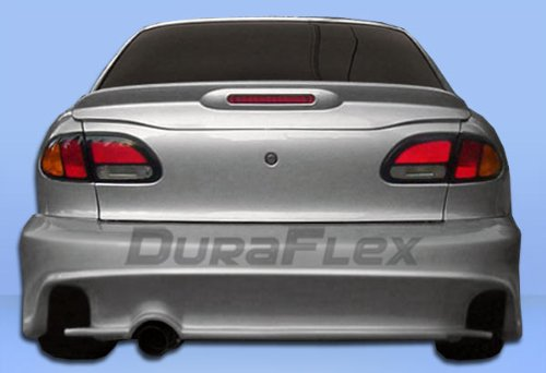Duraflex Replacement for 1995-1999 Chevrolet Cavalier 2DR Millenium Wide Body Rear Bumper Cover - 1 Piece