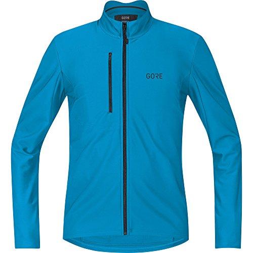 (GORE WEAR Men's Breathable Long Sleeve Jersey, C3 Thermo Jersey, M, Dynamic Cyan, 100334)