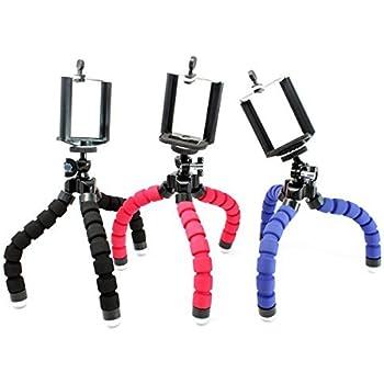 Stargoods Flexible Iphone Tripod + Mount adapter - Mini Octopus (Set of 3)