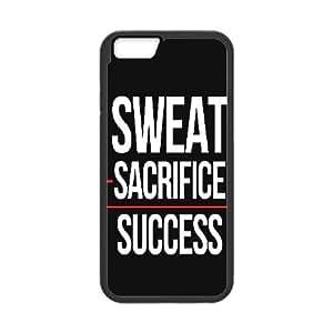IPhone 6 Plus Case Success, Typography Dustin, {Black}