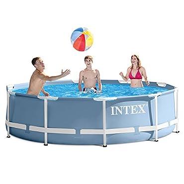 Intex 12'x30 Prism Frame Pool Set with Filter Pump (28711EH)