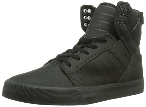 Homme Tuf Satin S18091 Mode red Supra Sole Baskets Skytop Black xfw1qAAI7