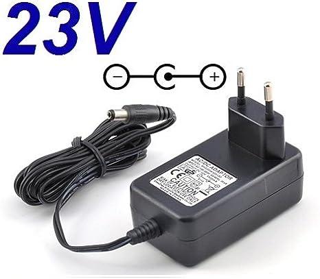 CARGADOR ESP ® Cargador Corriente 23V Reemplazo Dexter Power JLH282301200G Recambio Replacement