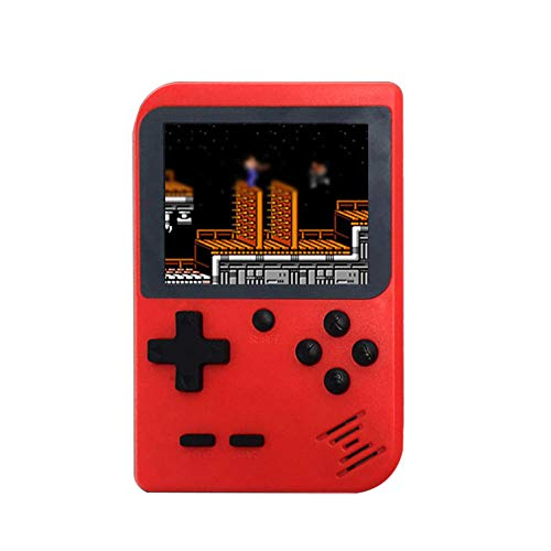 Retro Mini 2 Handheld Console Emulator Built-in 168 Classic Video Games Gift (Red)