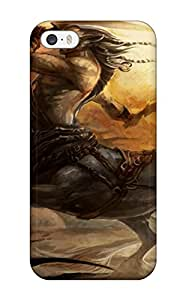 Premium Creature Fantasy Abstract Fantasy Heavy-duty Protection Case For Iphone 5/5s