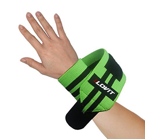 LOVIT Wrist Wraps multiple colors