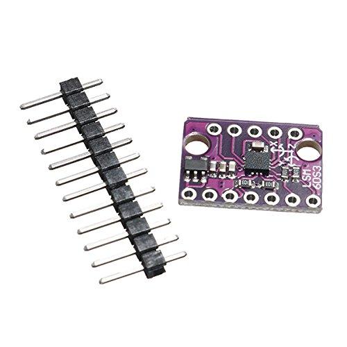 LaDicha Gy-Lsm6Ds3 1.71-5V 3 Eje Acelerómetro 3 Eje Giroscopio Sensor 6 Eje Inercial Tablero De Inclinación Módulo De Ángulo Integrado Sensor De Temperatura ...