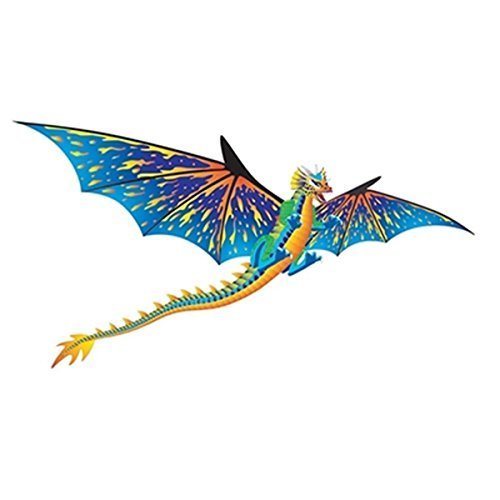 Brainstorm Dragon WindnSun 3-D Nylon Kite, (D&d Dragon)