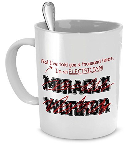 Electrician Mug Thousand Miracle Accessories product image