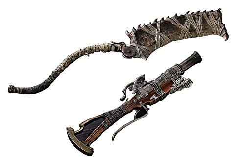 Replica Weapons - Gecco Bloodborne Hunter's Arsenal: Saw Cleaver and Hunter Blunderbuss 1:6 Scale Weapon Set